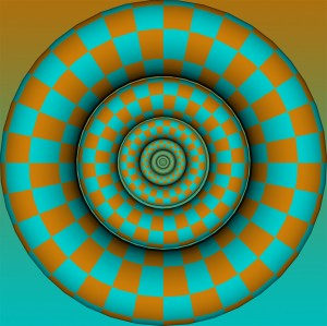 one of my first optical illusion inspired images, its also an element in some of the others